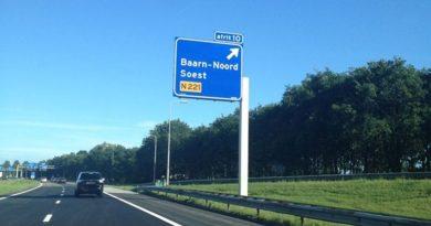 Advisering sluipverkeer door Rijkswaterstaat boven A1