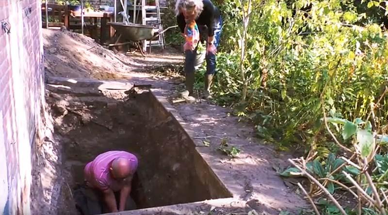 Opgraving 12e eeuwse boederij