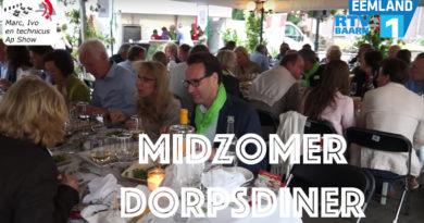 De vierde editie van het Midzomer Dorpsdiner op de Brink