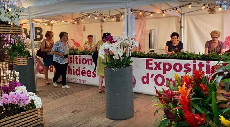 John Nieuwenhuis organiseert Orchideeën Tentoonstelling in Frankrijk