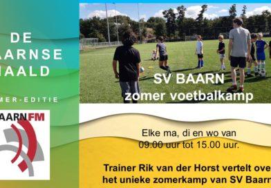 SV Baarn zomer voetbalkamp.