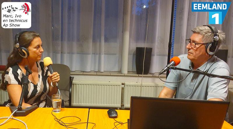 Mylou Mazali in gesprek met Ap Penris