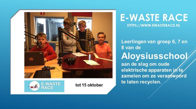 E-WASTE race Aloysiusschool