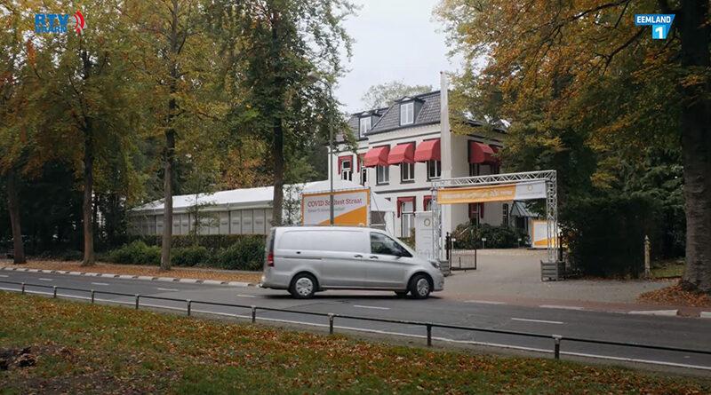 Eerste Covid Sneltest Straat van Nederland