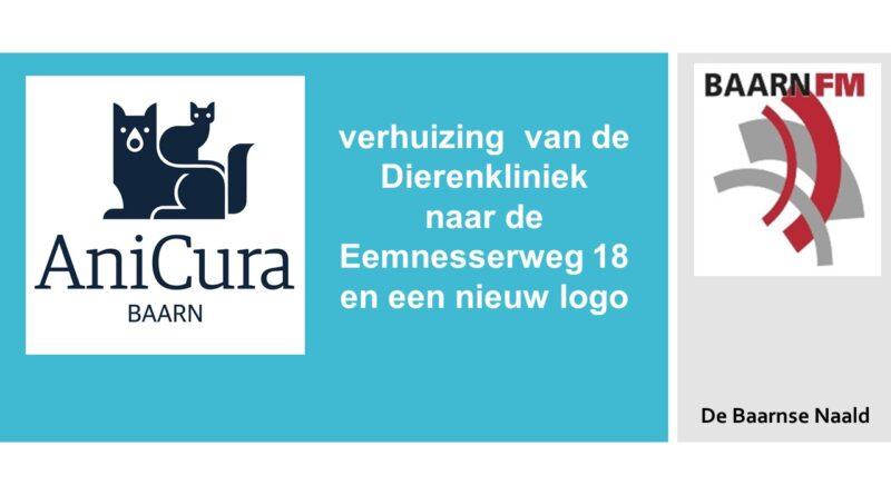 Nieuw logo en verhuizing van de Dierenkliniek aan de Tromplaan .
