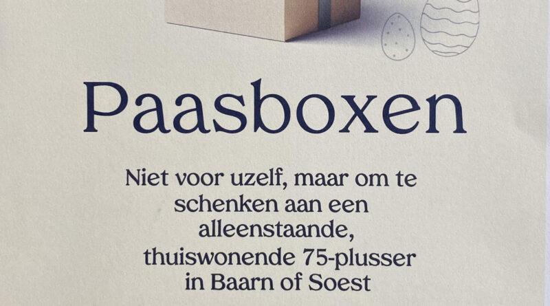 Jaques van der Vlies vertelt over een goed gevulde Paasbox met lekkernijen om weg te geven.