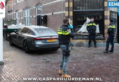 Arrestatieteam doet inval in de Brinkstraat