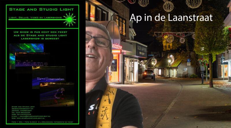 Ap in de Laanstraat | Stage and Studio Light – Zorg Voor Ons